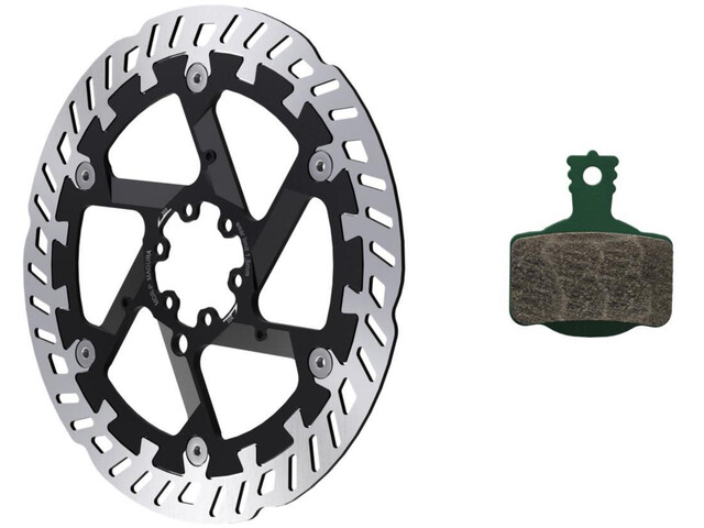 Magura MT eSTOP Optimized Kit with 7.S Brake Disc MDR-P 6-Hole and Brake Pads
